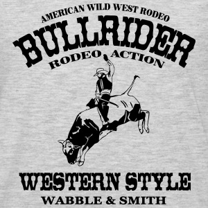 Western Rodeo - Bullrider Hoodies - Men's Premium Long Sleeve T-Shirt