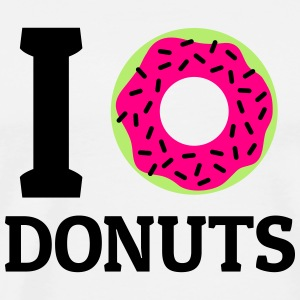 I love donuts Tanks - Men's Premium T-Shirt