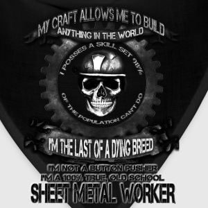 Sheet metal worker T-shirt - The power of metal - Bandana