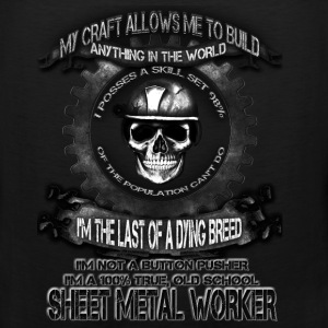 Sheet metal worker T-shirt - The power of metal - Men's Premium Tank