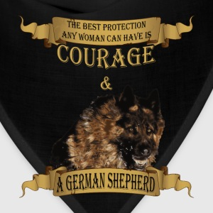 German Shepherd T-shirt - The best protection - Bandana