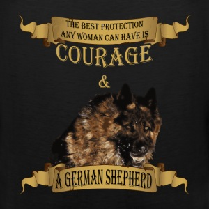 German Shepherd T-shirt - The best protection - Men's Premium Tank