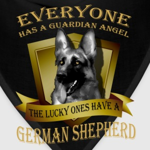 German Shepherd T-shirt - Guardian angel - Bandana