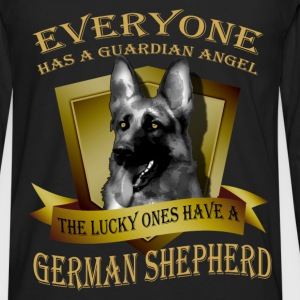 German Shepherd T-shirt - Guardian angel - Men's Premium Long Sleeve T-Shirt