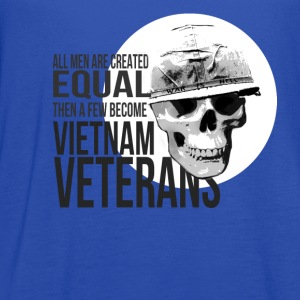 Vietnam veterans T-shirt - A few become veterans - Women's Flowy Tank Top by Bella