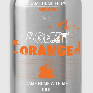 Agent orange T-shirt - Came home with me - Water Bottle