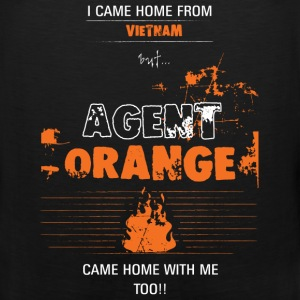 Agent orange T-shirt - Came home with me - Men's Premium Tank