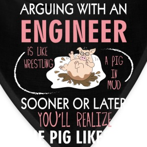 Chemical engineer T-shirt - Arguing with engineer - Bandana