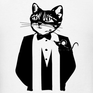Cat in a tuxedo Other - Men's T-Shirt