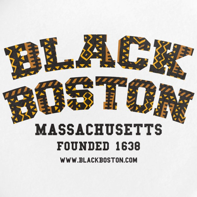 Boston Black Coffee Mug a Black Boston souvenir