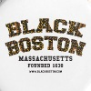 Boston Black Coffee Mug a Black Boston souvenir - Small Buttons