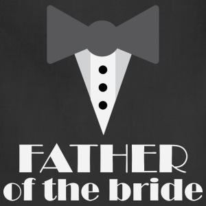Father of the Bride tux T-Shirts - Adjustable Apron