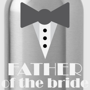 Father of the Bride tux T-Shirts - Water Bottle