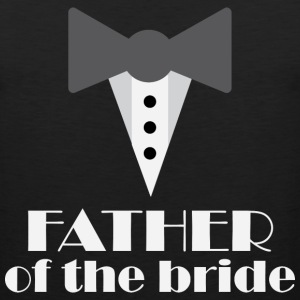 Father of the Bride tux T-Shirts - Men's Premium Tank