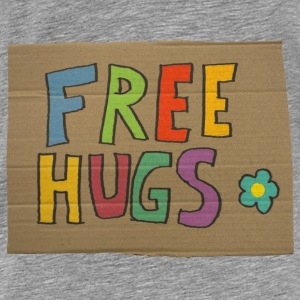 free hugs Hoodies - Men's Premium T-Shirt