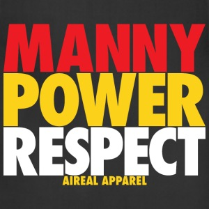 MANNY POWER RESPECT T-Shirts - Adjustable Apron