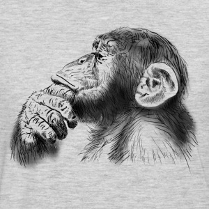 monkey T-Shirts - Men's Premium Long Sleeve T-Shirt