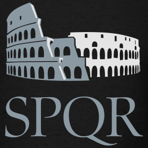 Colosseo SPQR Long Sleeve Shirts - Men's T-Shirt