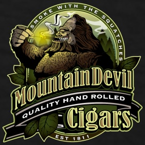 Mountain Devil Cigars - Men's T-Shirt