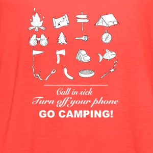 Go camping - Women's Flowy Tank Top by Bella