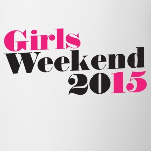 Girls WEEKEND 2015 - Coffee/Tea Mug