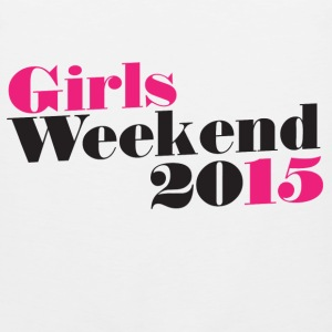 Girls WEEKEND 2015 - Men's Premium Tank