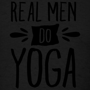 Real Men Do Yoga Tank Tops - Men's T-Shirt