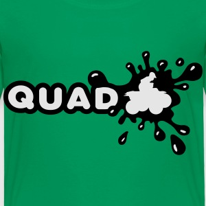 Quad Splash Kids' Shirts - Toddler Premium T-Shirt