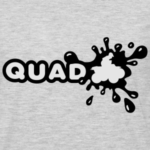 Quad Splash Hoodies - Men's Premium Long Sleeve T-Shirt