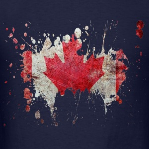 splatter canada - Men's T-Shirt