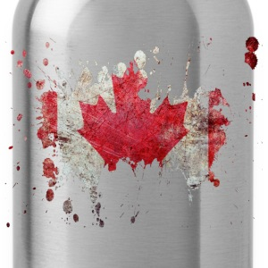 splatter canada - Water Bottle