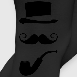 mustache_pipe_hat_20 T-Shirts - Leggings