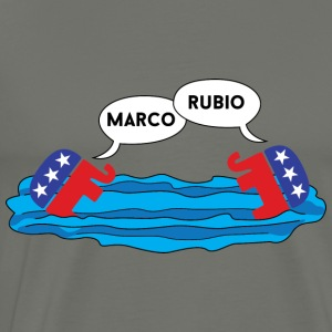 Marco Rubio Marco Polo Hoodies - Men's Premium T-Shirt