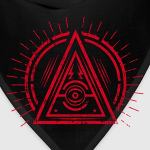 Illuminati - All Seeing Eye - Satan / Black Symbol Bags & backpacks - Bandana