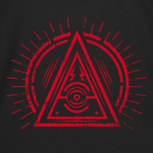 Illuminati - All Seeing Eye - Satan / Black Symbol Bags & backpacks - Men's Premium Long Sleeve T-Shirt