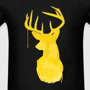 paint deer - Men's T-Shirt