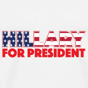 HILLARY FOR PRESIDENT - Men's Premium T-Shirt