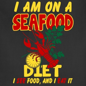 SeaFood Diet Shirt - Adjustable Apron