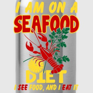 SeaFood Diet Shirt - Water Bottle