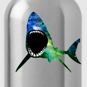 Galactic Great White - Water Bottle