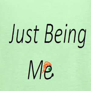 just being me - Women's Flowy Tank Top by Bella
