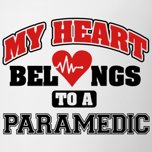 My heart belongs to a paramedic Tanks - Coffee/Tea Mug