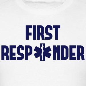 first responder Hoodies - Men's T-Shirt