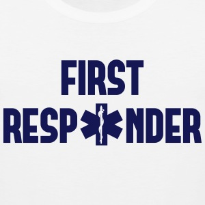 first responder Long Sleeve Shirts - Men's Premium Tank