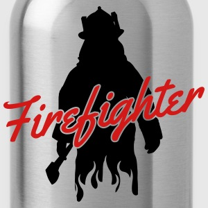 firefighter fireman Women's T-Shirts - Water Bottle