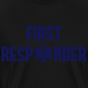 first responder Long Sleeve Shirts - Men's Premium T-Shirt