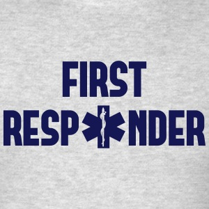 first responder Tank Tops - Men's T-Shirt