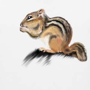 chipmunk Women's T-Shirts - Men's Premium Tank
