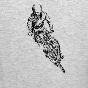 mountain bike cross Women's T-Shirts - Men's Premium Tank