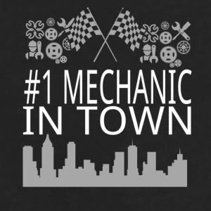 Mechanic in Town Mugs & Drinkware - Men's Premium Long Sleeve T-Shirt